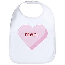 Meh Heart Bib