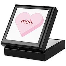 Meh Heart Keepsake Box