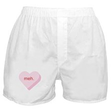 Meh Heart Boxer Shorts