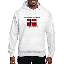 Proud Norwegian Bestemor Hoodie
