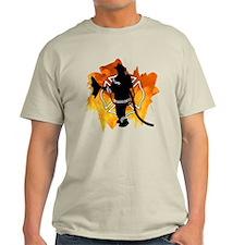 Firefighter Flames T-Shirt