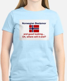 Gd Lkg Norwegian Bestemor T-Shirt
