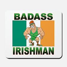 Bad Ass Irishman Mousepad