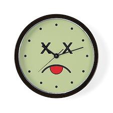 Yuck Face Wall Clock