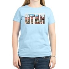 Utah Women's Pink T-Shirt