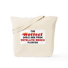 Hot Girls: Satellite Be, FL Tote Bag