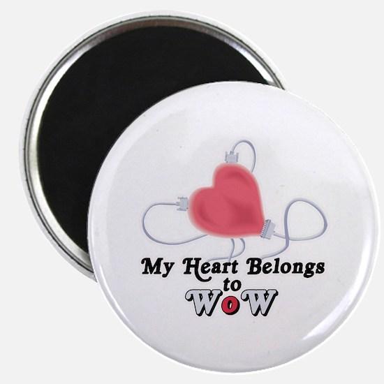 My Heart Belongs to WoW Magnet