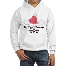 My Heart Belongs to WoW Hoodie