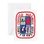 Riverside Paramedic Greeting Cards (Pk of 10)