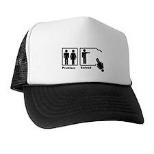 Man's Problem Solved Trucker Hat