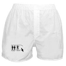 Man's Problem Solved Boxer Shorts