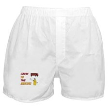 Gavin to the Rescue!  Boxer Shorts