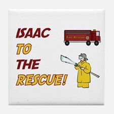 Isaac to the Rescue!  Tile Coaster