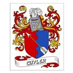Cuyler Coat of Arms Small Poster