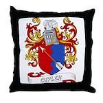 Cuyler Coat of Arms Throw Pillow