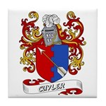 Cuyler Coat of Arms Tile Coaster
