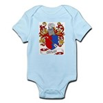 Cuyler Coat of Arms Infant Creeper