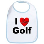 I Love Golf for Golfers Bib