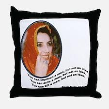 Bhutto Throw Pillow