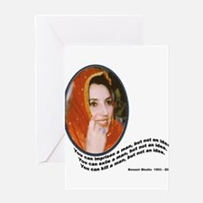 Bhutto Greeting Card