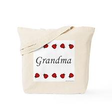 Grandma (ladybug) Tote Bag