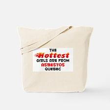 Hot Girls: Asbestos, QC Tote Bag