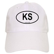 Kyrgystan Oval Baseball Cap