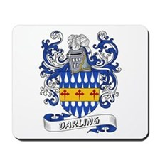 Darling Coat of Arms Mousepad