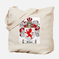 Russo Coat of Arms Tote Bag