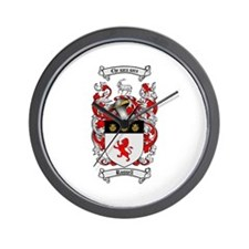 Russell Coat of Arms Wall Clock
