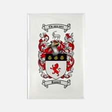 Russell Coat of Arms Rectangle Magnet (10 pack)