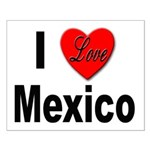 I Love Mexico Small Poster