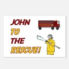 John to the Rescue!  Postcards (Package of 8)