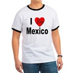 I Love Mexico (Front) Ringer T