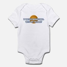 Dallas Basketball Mommy Infant Bodysuit