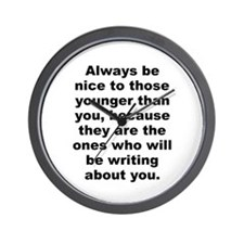 Cyril connolly quote Wall Clock
