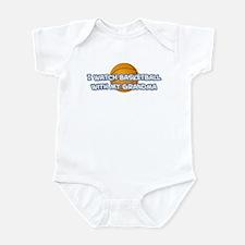 Dallas Basketball Grandma Infant Bodysuit