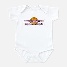 Detroit Basketball Grandma Infant Bodysuit