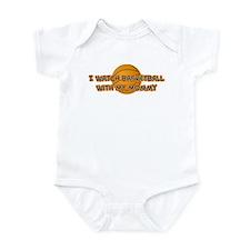 Golden State Basketball Mommy Infant Bodysuit