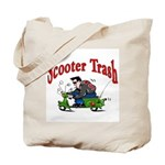 Scooter Trash Tote Bag
