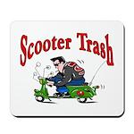 Scooter Trash Mousepad