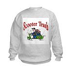 Scooter Trash Kids Sweatshirt
