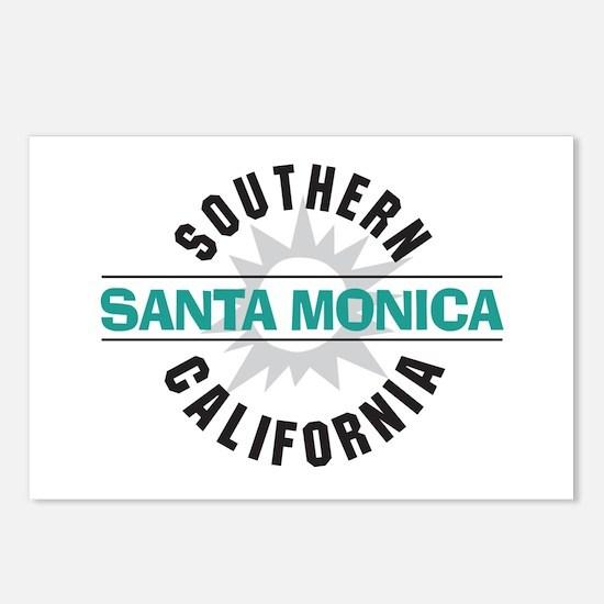 Santa Monica California Postcards (Package of 8)