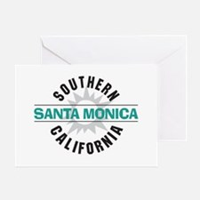 Santa Monica California Greeting Card
