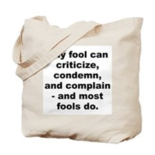 Carnegie quotation Tote Bag