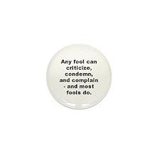 Unique Carnegie quotation Mini Button (10 pack)
