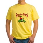 Scooter Bitch Yellow T-Shirt