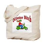 Scooter Bitch Tote Bag