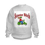 Scooter Bitch Kids Sweatshirt