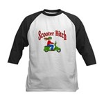 Scooter Bitch Kids Baseball Jersey